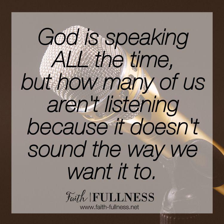Image result for sound God voice