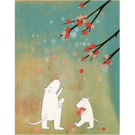 Jut en Juul Lifestyle for Kids : Prent Cherry Blossom  - Harvest