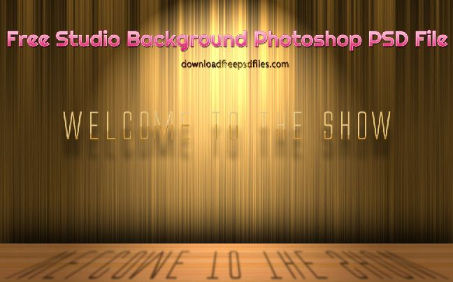Stage-Studio Background PSD File Free Download | studio background ...