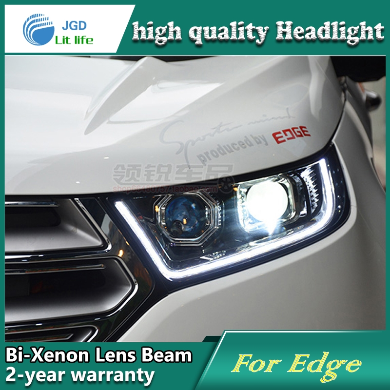 Watch Now Aiba Worlditems Win All Product Phpid Car Styling Head Lamp Case For Ford Edge Headlights Led Headlight Drl Lens