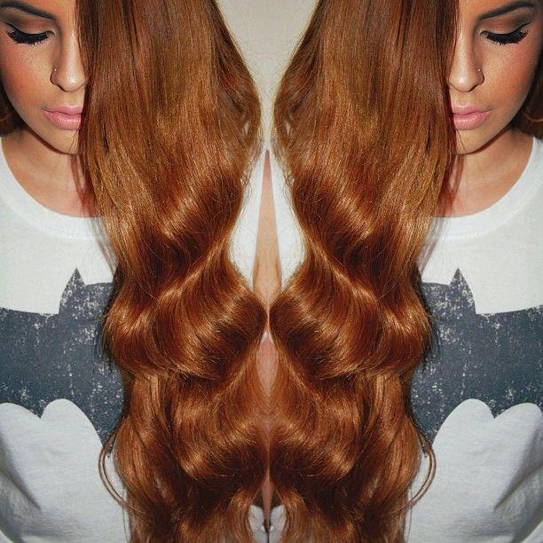 I love  BELLAMI Hair Bellissima hair extension set in Chestnut Brown in 22