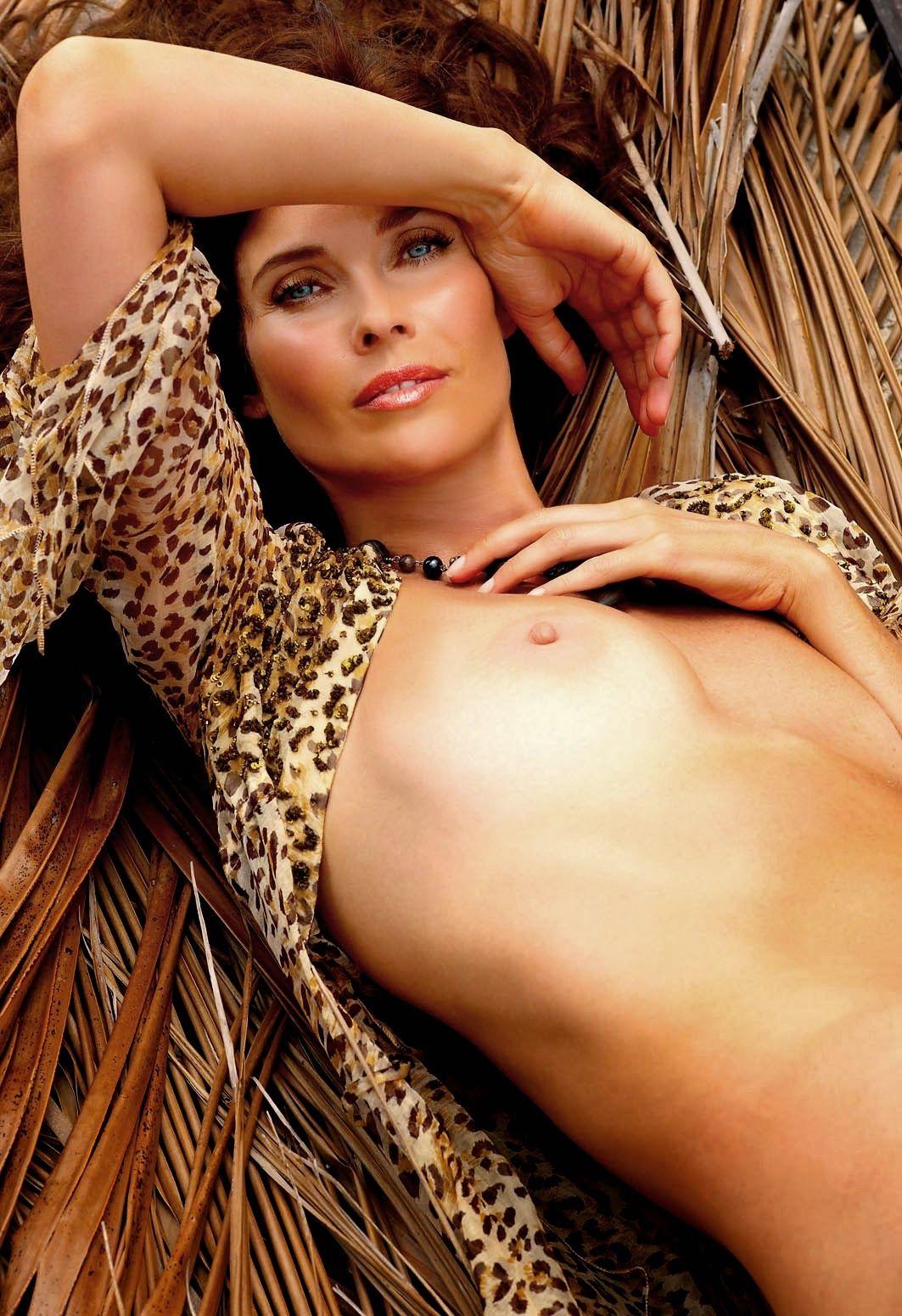 Supermodels nude pictures, naked photos julie warner