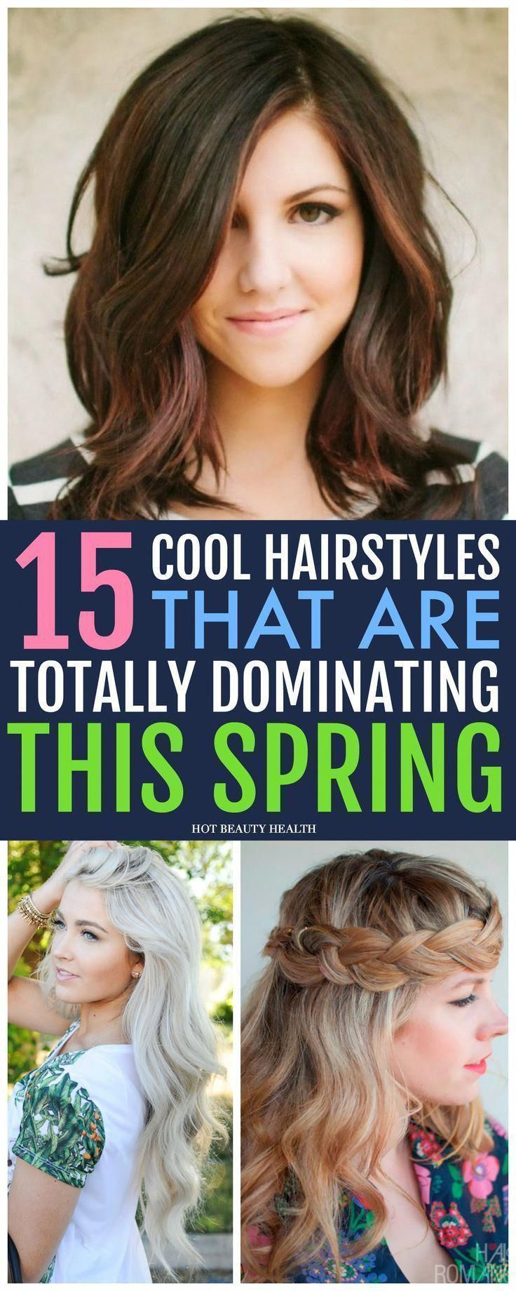 Make a statement with these 15 Easy Spring Hairstyles! Find a style for long hai…, #Easy