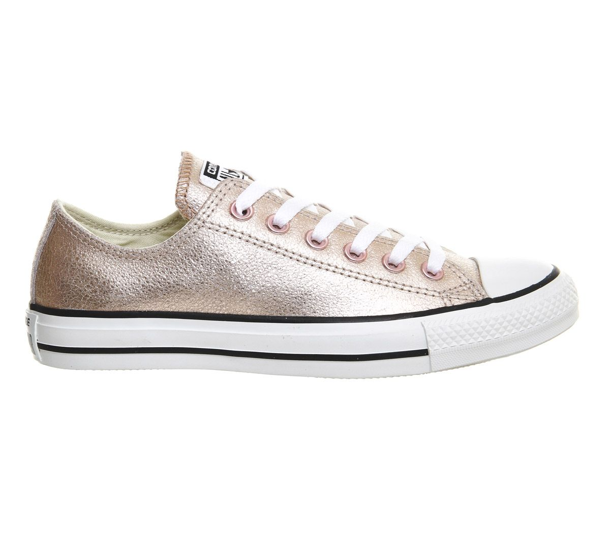 Converse Allstar Low Lthr Rose Gold Exclusive - Unisex Sports ... 1585fab5b