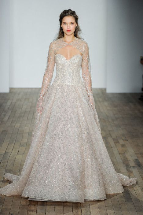 3801 bridal dress from the 2018 collection by lazaro