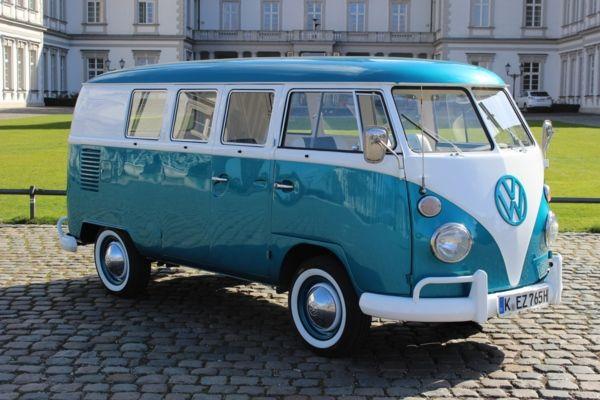 VW T1 Bulli for rent in germany