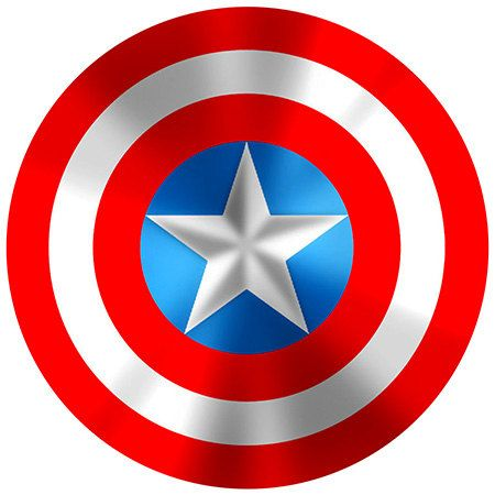 Captain America Shield Fabric Wall Decal 25 by MarkAndKris ...