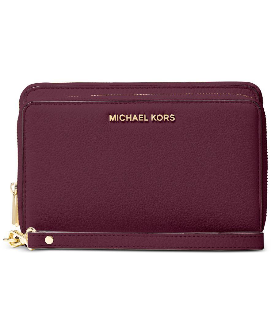 Michael Michael Kors Adele Double Zip Wallet   Micheal kors