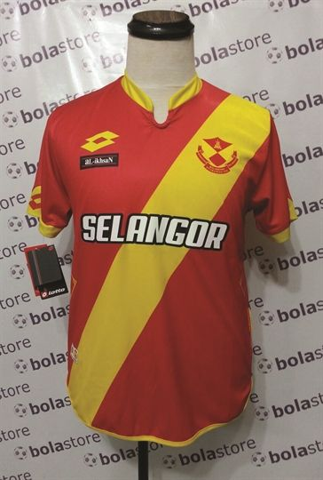 Jersi Malaysia Kelantan Selangor Bolasepak Jersi Selangor Home 2016 Original Lotto
