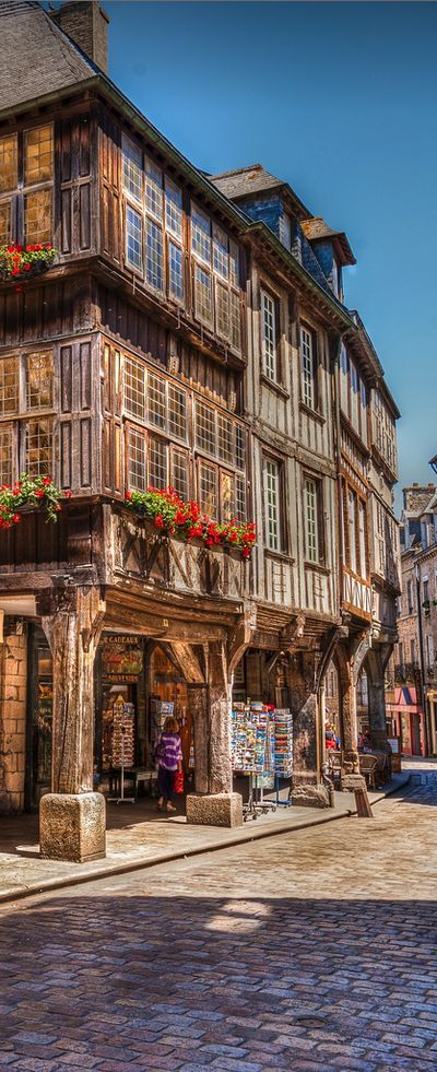 Dinan, Bretagne, France old towns Pinterest Bretagne, France