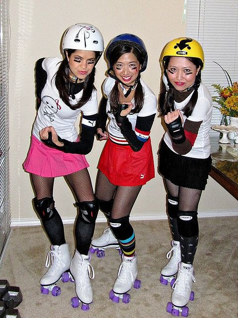 roller derby costume