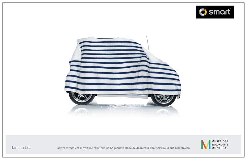 canadian car ads   ... , Fortwo, Jean-paul gaultier, canada, voiture de  femme, mode, belle 8b7109e8b58