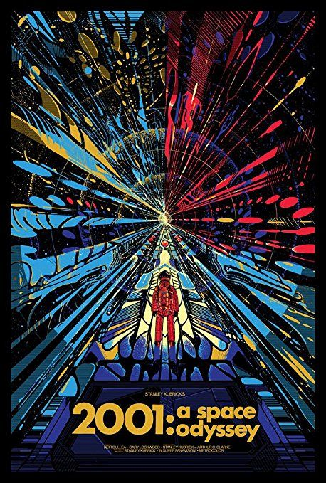 2001 a Space Odyssey Fridge Magnet 2.5 X 3.5 Classic Magnetic Movie Poster