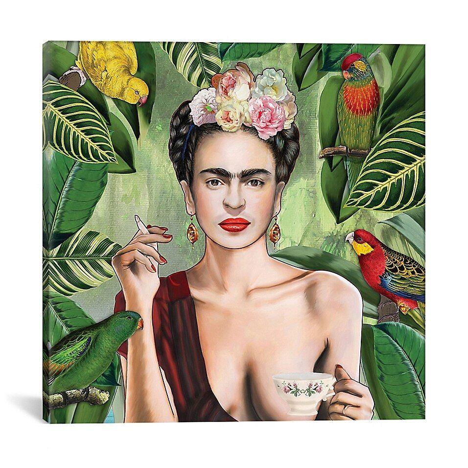 Icanvas Nettsch Frida Con Amigos 26