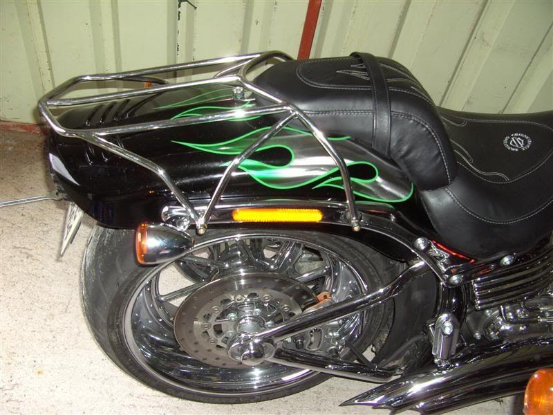 Image detail for -... luggage rack for 2009 CVO Springer softail - Harley Davidson Forums