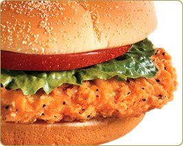 images about Wendys Spicy chicken sandwiches