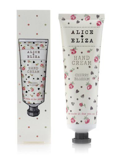 Alice Eliza Cherry Blossom Hand Cream 75ml Marks Spencer