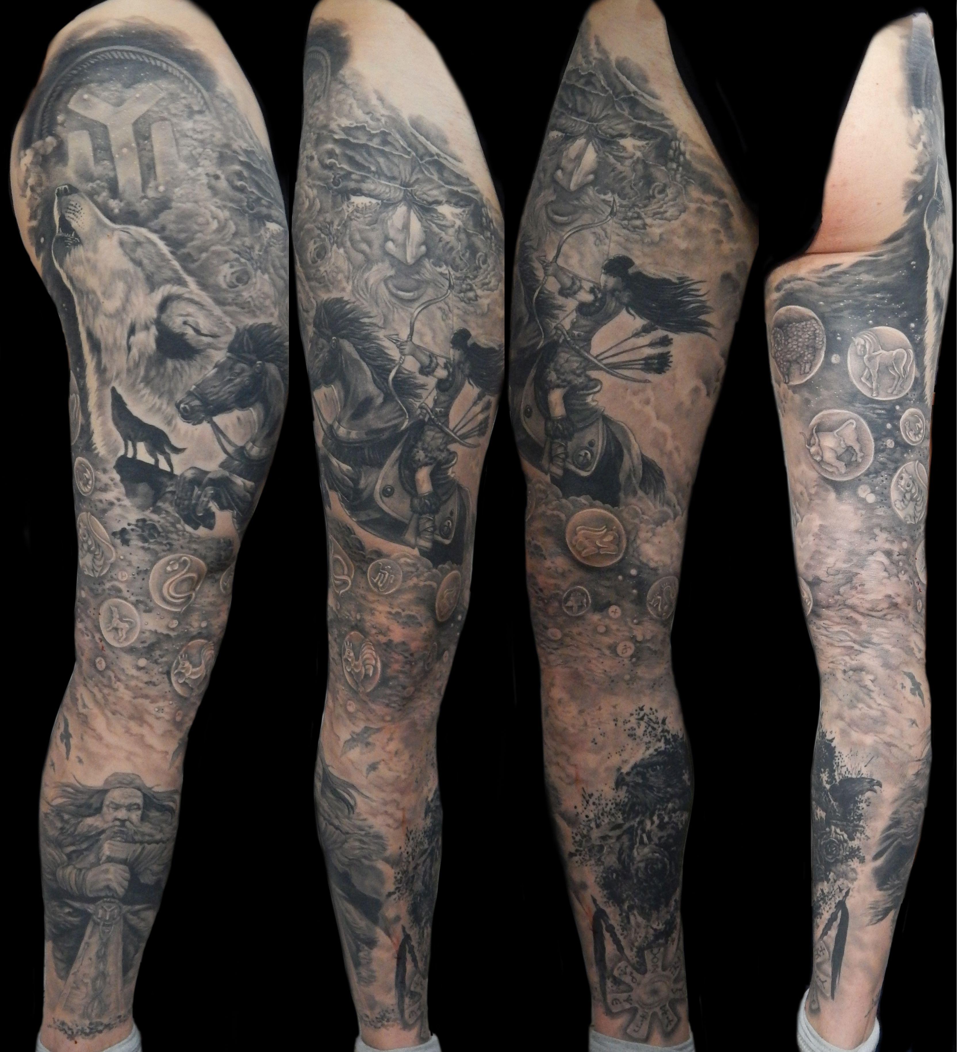 protobulgarian theme full leg tattoo bulgarian history tattoo nikolay tattoo pinterest. Black Bedroom Furniture Sets. Home Design Ideas