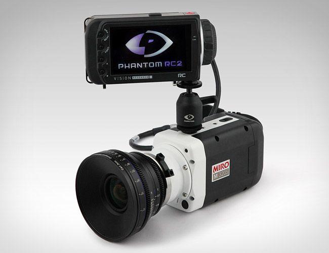 Phantom Miro M320S High-Speed Camera. Because everything looks ...