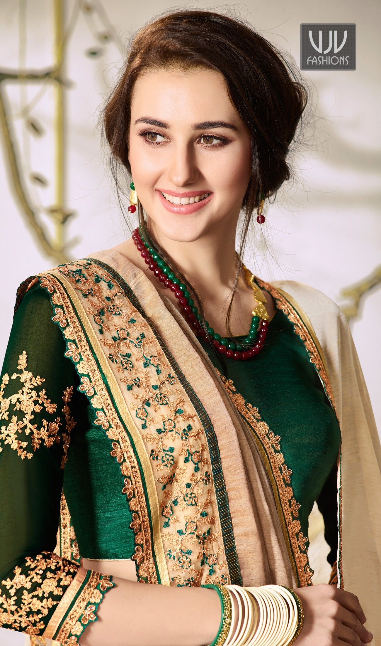 38622a3aeb70 Buy Online Stylish Designer Casual Saree, Embroidered Saree, and Party Wear  occasion special Stylish New sarees at vjv Fashions. Shop Designer wedding