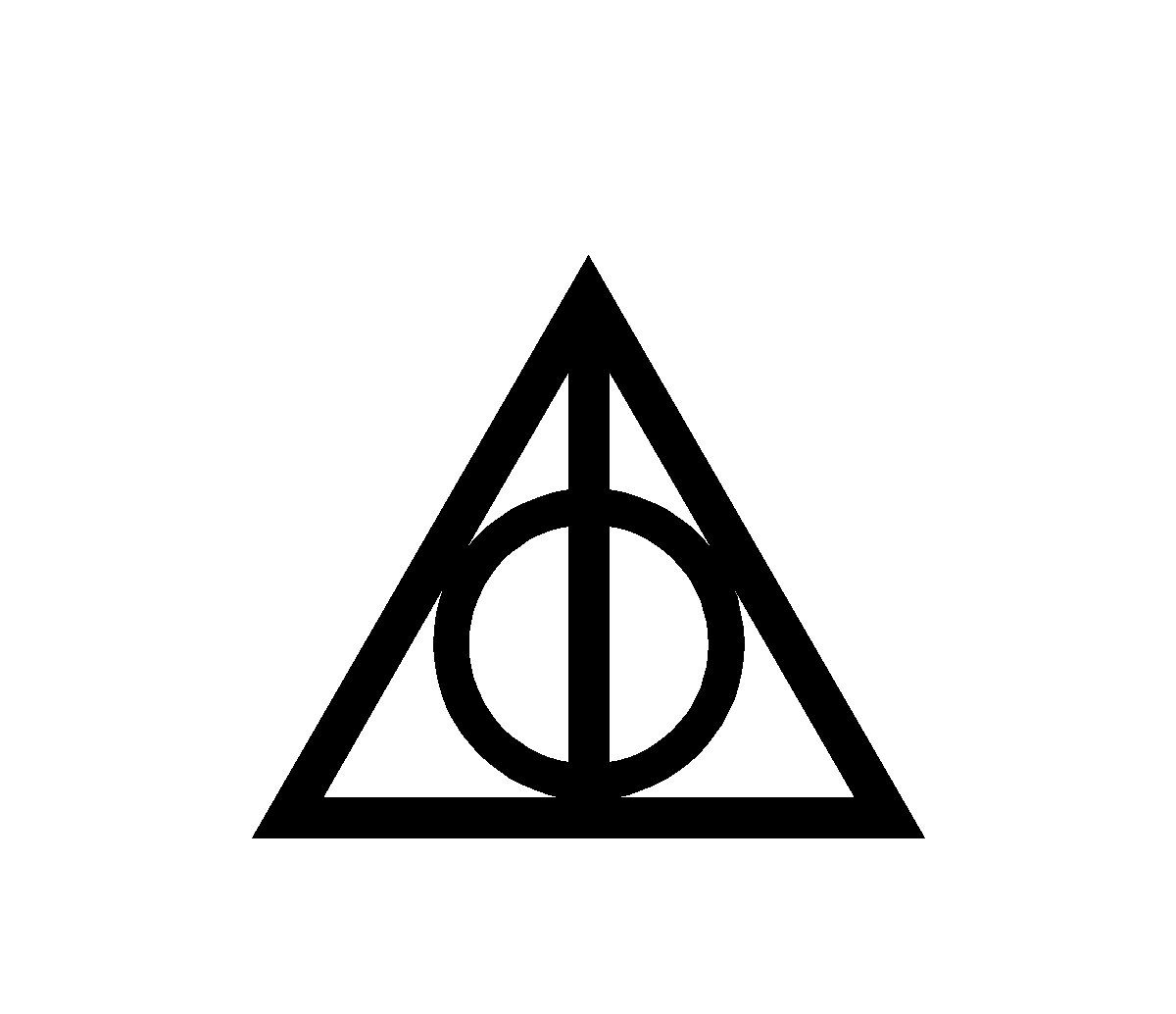 deathly hallows symbol | Potterhead | Pinterest | Deathly ...