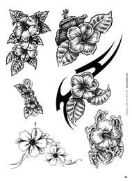 Black And White Hibiscus Flower Tattoos Choosing The Right Tattoo White Flower Tattoos Black And White Flower Tattoo Hibiscus Flower Tattoos