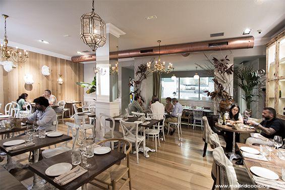 La Jefa Colonial Restaurante En Castellana Restaurantes En Castellano Restaurantes Madrid