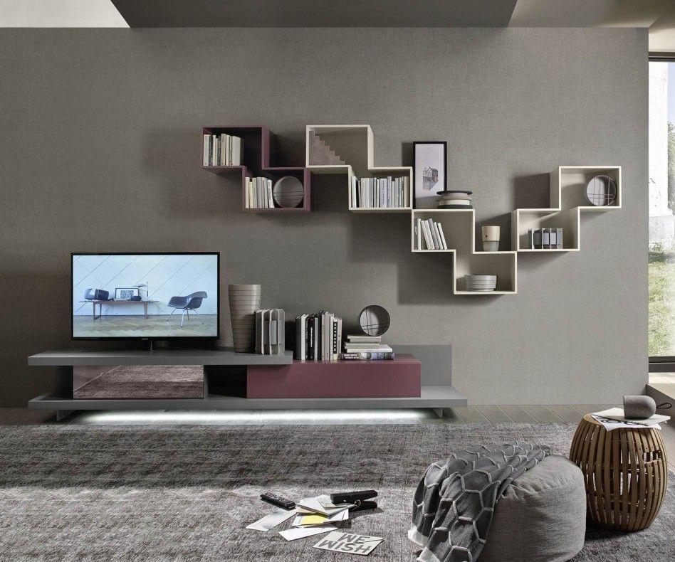 livitalia wohnwand c53 in 2018 tv wohnw nde. Black Bedroom Furniture Sets. Home Design Ideas