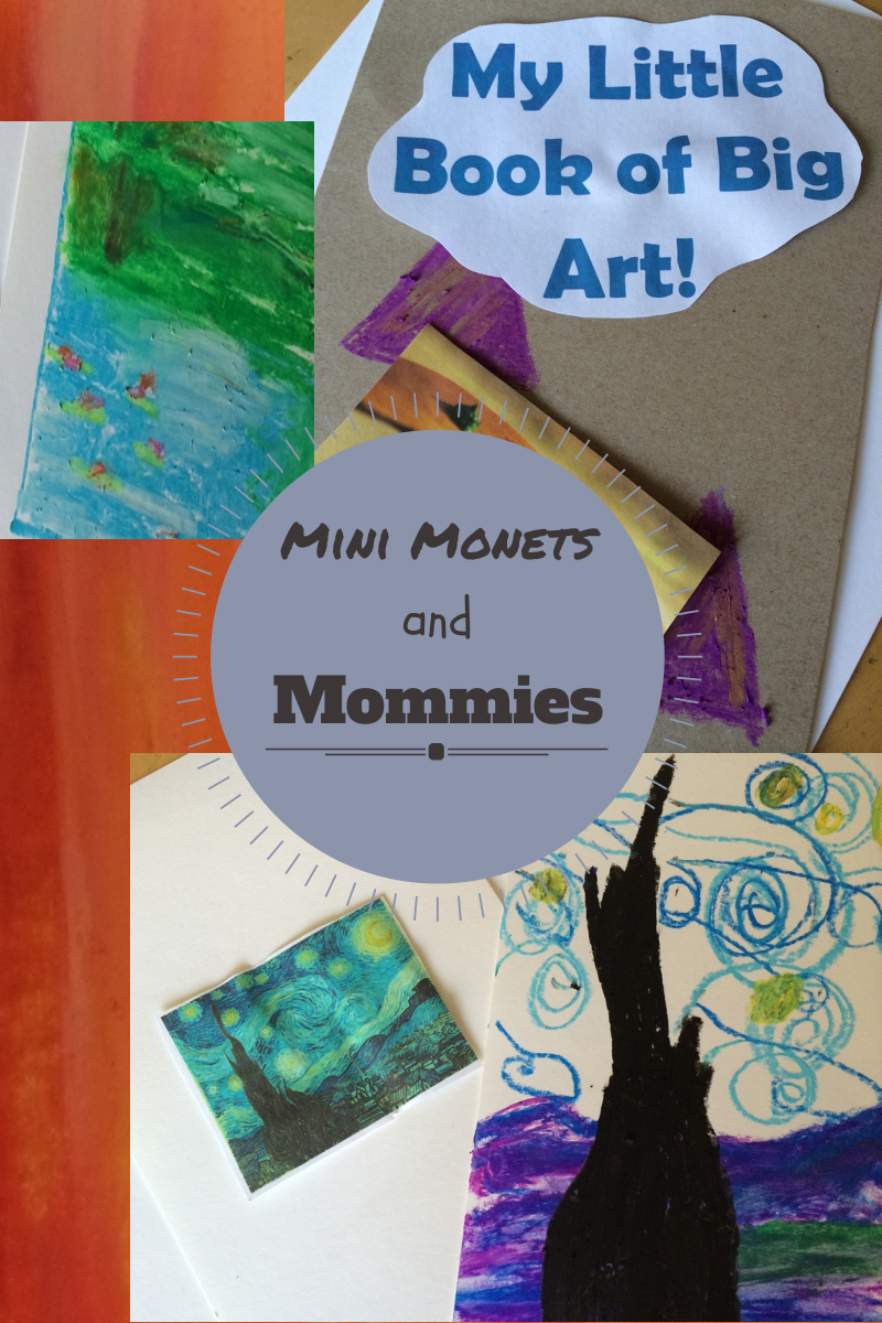 Mini Monetommies Art Viewing And Making Kids Book