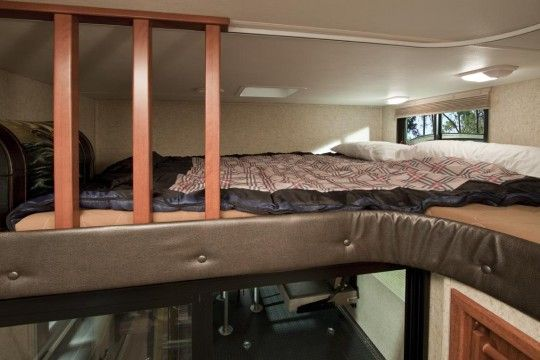 Kids Love This Loft Area In The Cyclone Toy Hauler Cyclone