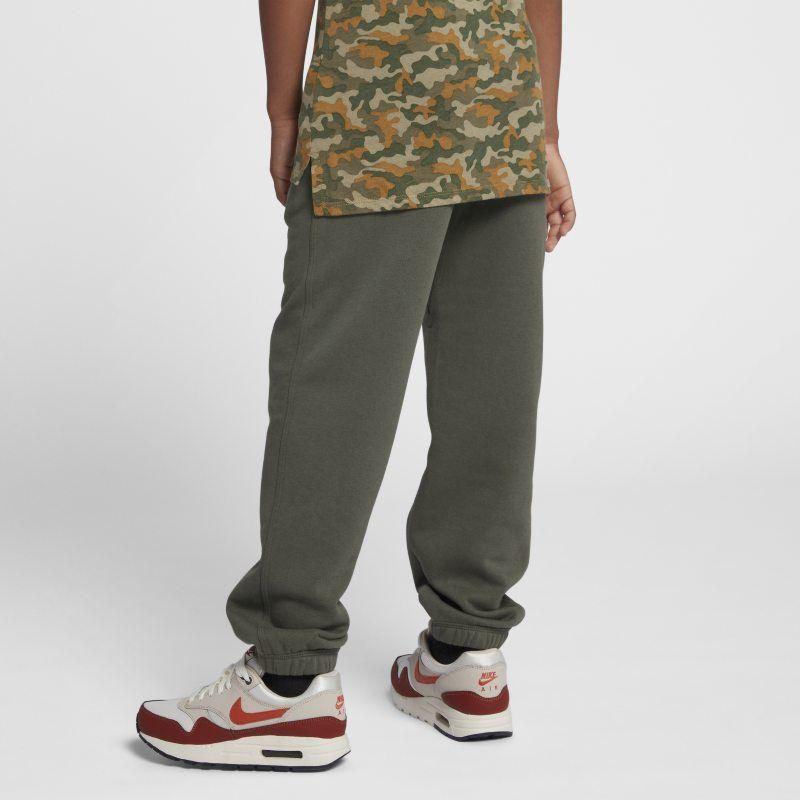 recoger malo Disciplina  Nike Brushed-Fleece Cuffed (8y-15y) Older Boys' Sweatpants - Olive |  Sweatpants