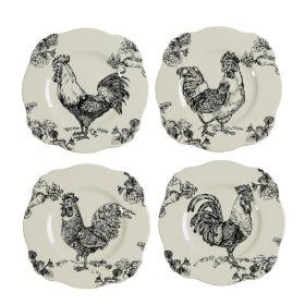 Pin By Pamela R On Kitchens Rooster Decor Rooster Plates Rooster Kitchen Decor