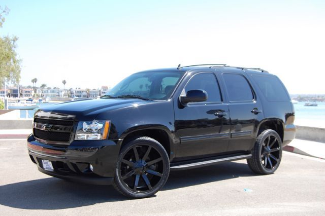Would You Rock This Blacked Out Tahoe Mod Chevy Tahoe