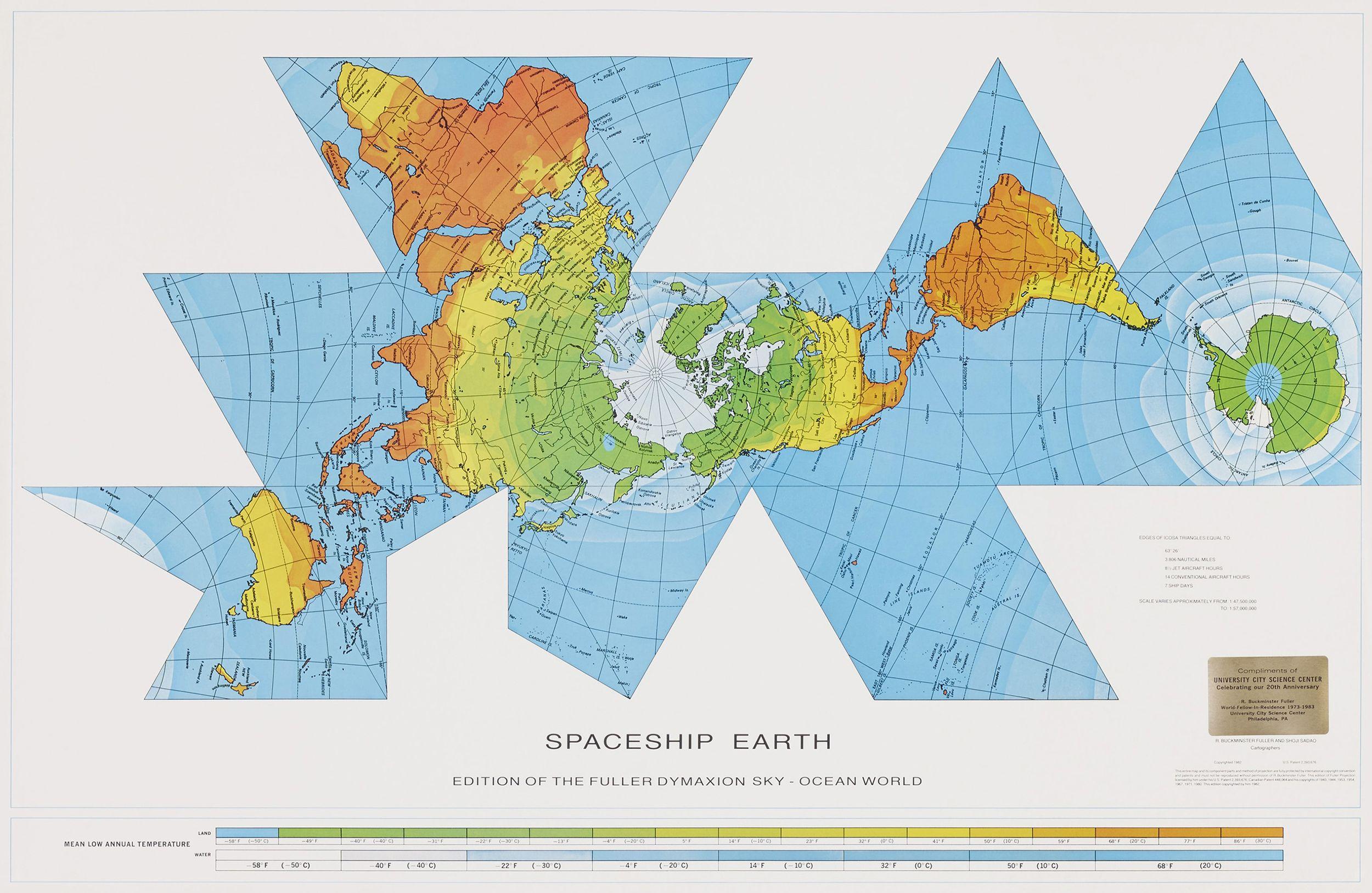 Dymaxion world map richard buckminster fuller atlas of places dymaxion world map richard buckminster fuller atlas of places gumiabroncs Images