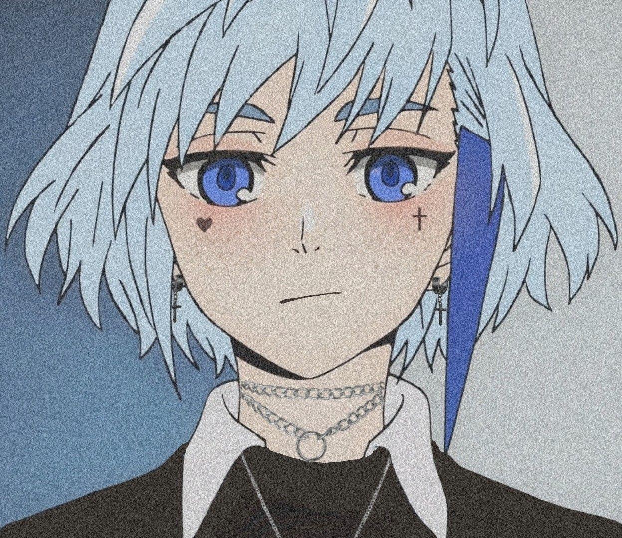 Icon Khun Aguero Agnis Blue Anime Anime Heaven Anime