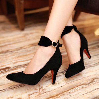 ENMAYER 2014 Fashion Sexy High Heels Women Pumps Ladies' Wedding Party women's Pumps Shoes size 34-43 $58.50