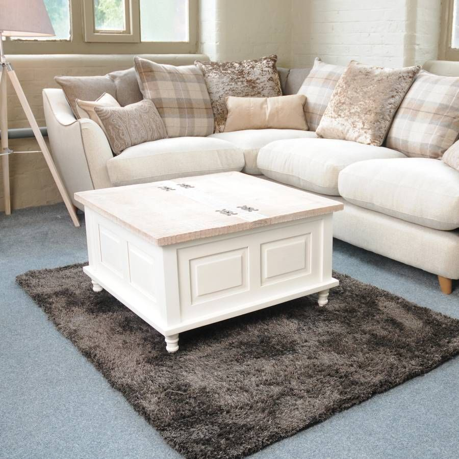 Storage Trunk Coffee Table Antique White Coffee Table Trunk