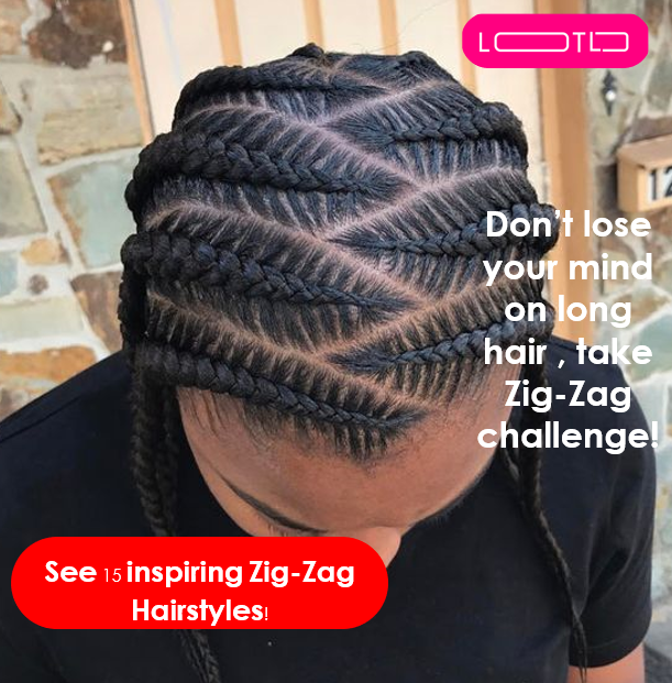 Pin On Zig Zag Afro American Hairstyles 2020 Braided