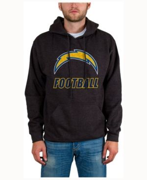 Junk Food Men's San Diego Chargers Wing-t Formation Hoodie - Black M