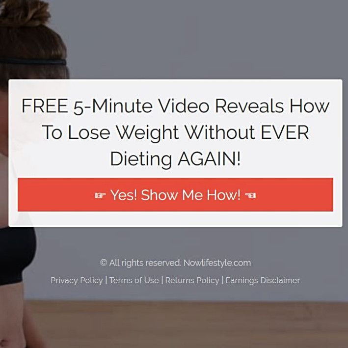 FREE 5-Minute Video Reveals How To Lose Weight Without EVER Dieting AGAIN! I did not know that mysel...
