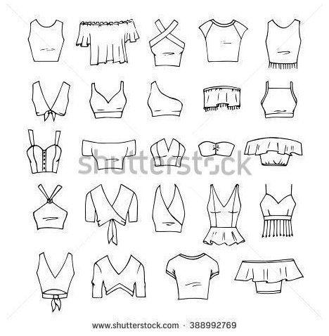fashion design drawing clothing sketch