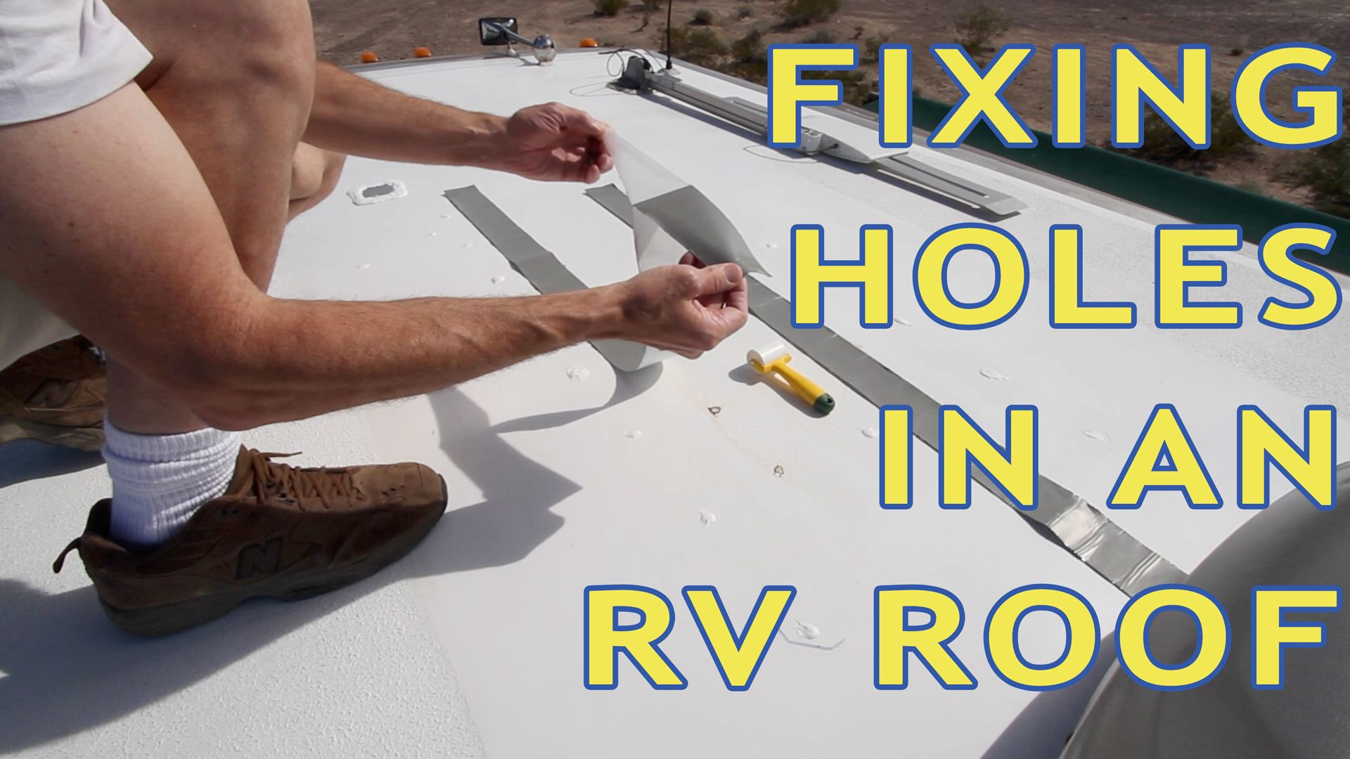 How To Repair Holes In An Rv Roof Howtorvgeeks Rv Rv
