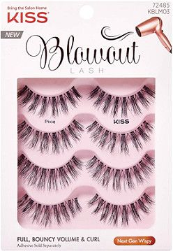 2175318197a Kiss Blowout Lash Pixie, Multipack | makeup | Wispy lashes, Lashes ...