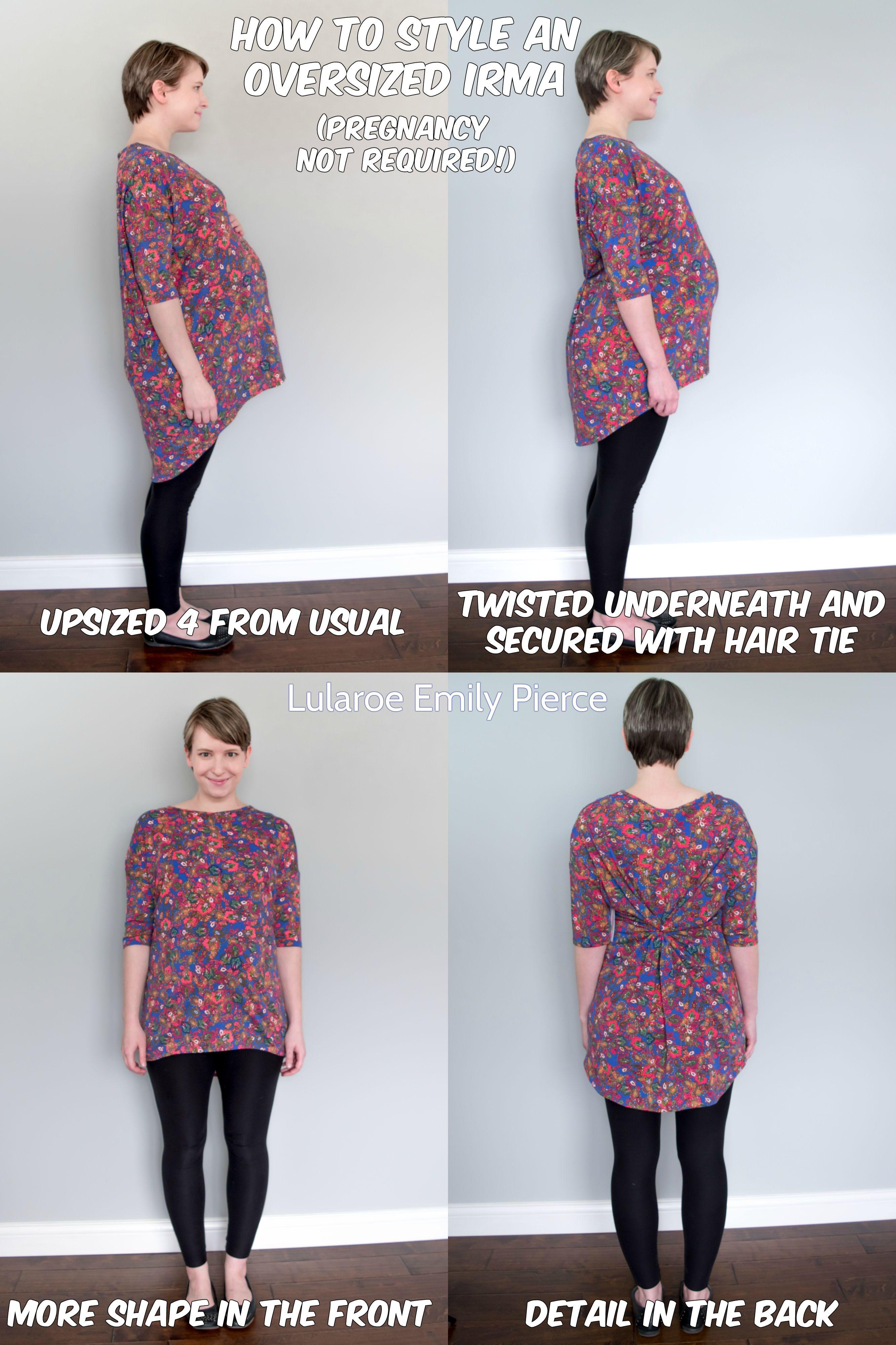 Women's Clothing Careful New Lularoe Irma Shirt S