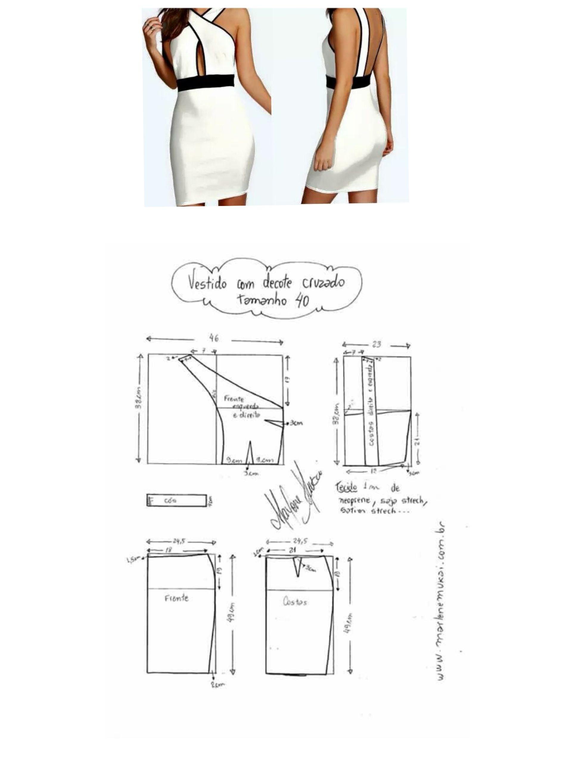 Pin de Winnie Ng en dress | Pinterest | Patrones, Molde y Costura