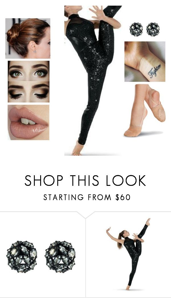 """""""Acrobatic Dance Performance"""" by teodoramaria98 ❤ liked on Polyvore featuring Alexis Bittar and Capezio"""