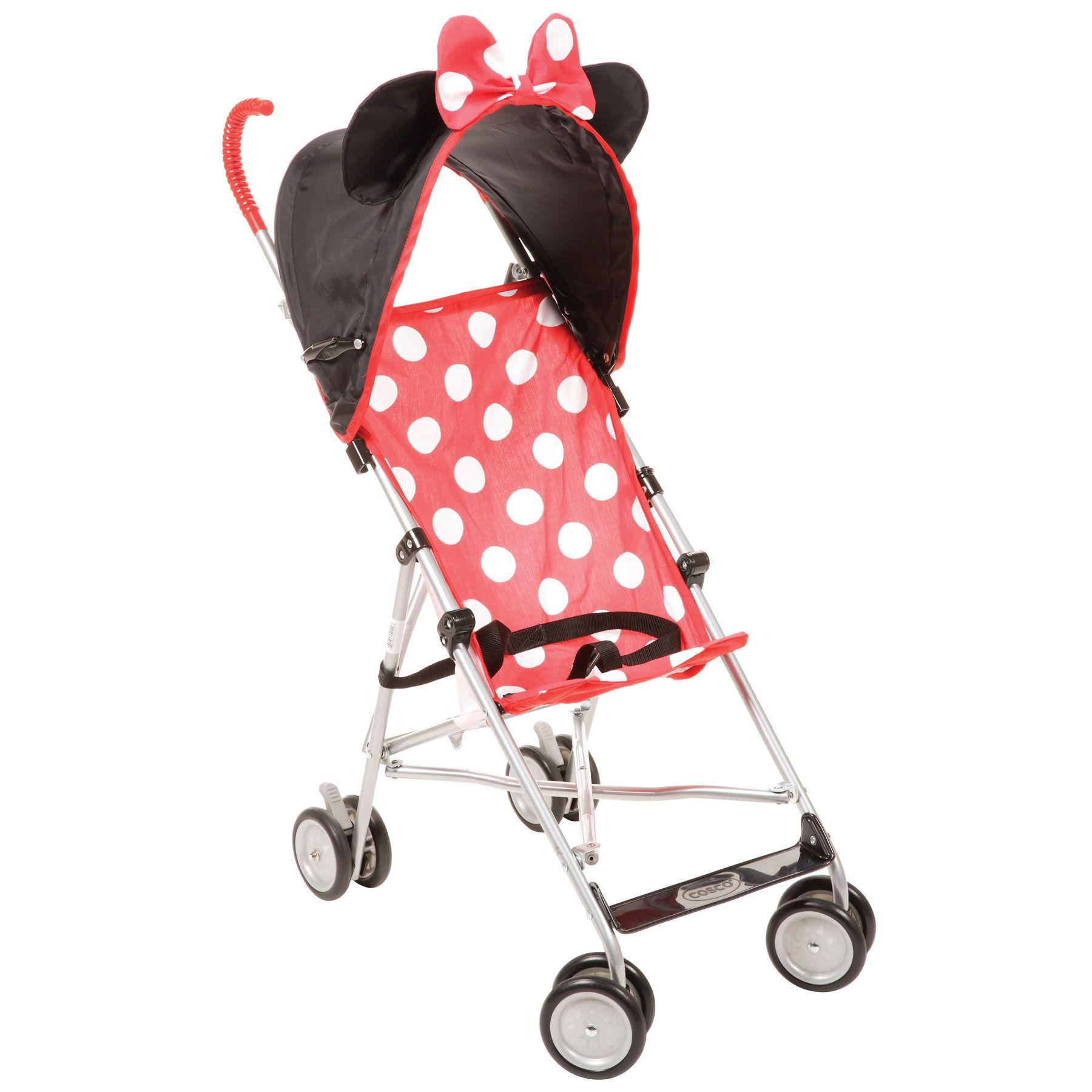 MICKEY MOUSE Dress Up Comfort Height Umbrella Stroller