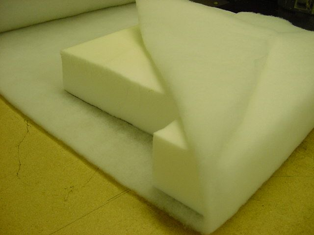 Use Dacron Wrap To Fix Deformed Back Cushions Upholsterers Call This Potato Chipping It Will Avoid The Look Or Feel Of A Solid Chunk Foam