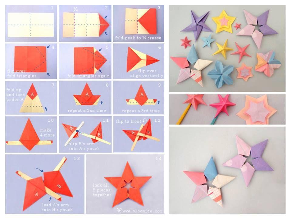 Galaxy Of Origami Stars DIY Tutorials