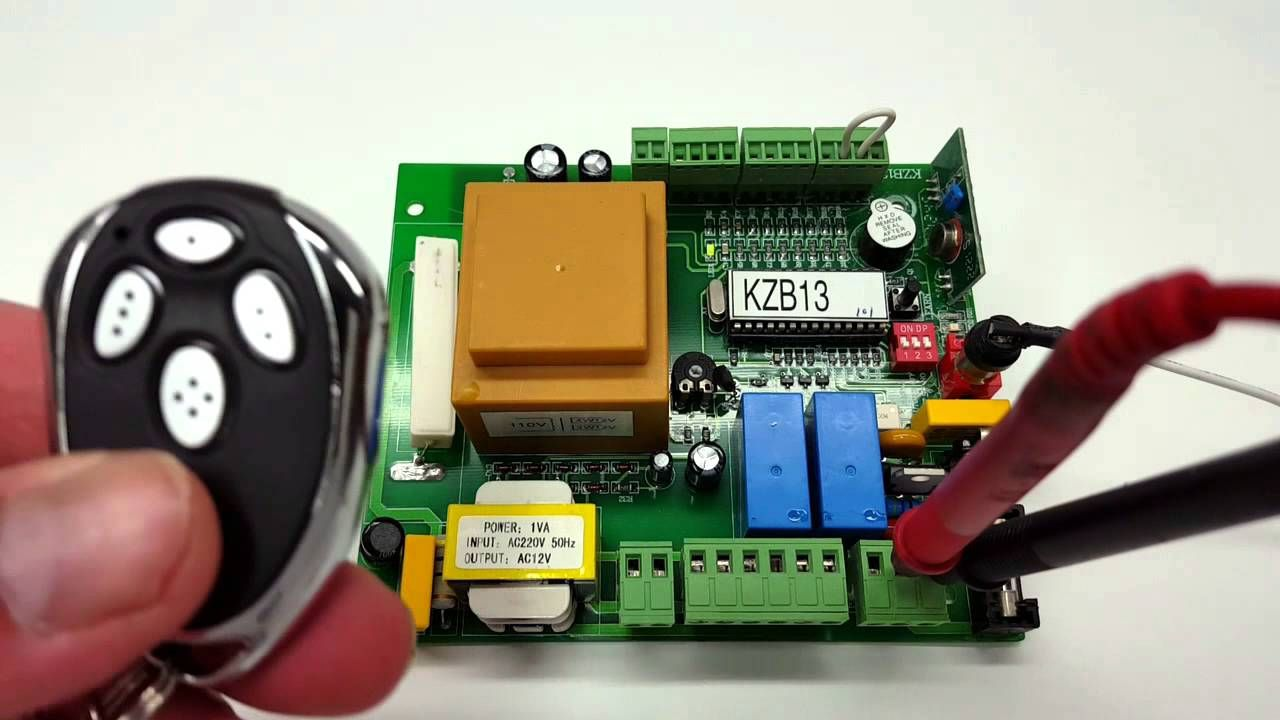 Programming Your Lm123 To Kzb13 Circuit Board Byan Gate Parts Operator